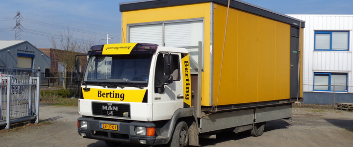 Uitbreiding wagenpark met MAN vrachtwagen
